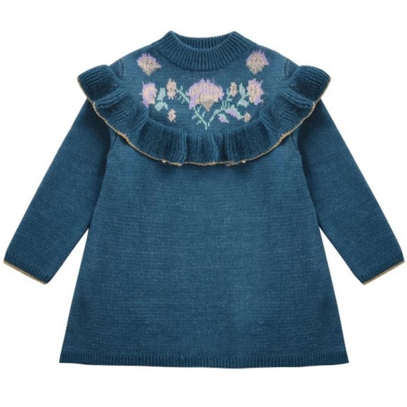 Other - New beautiful blue knit dress